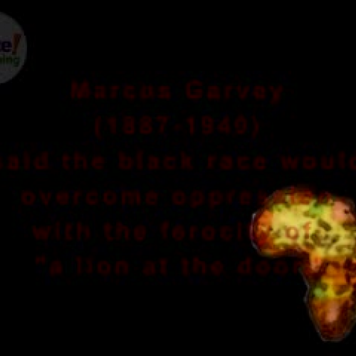 Marcus Garvey: The Lion of Liberation