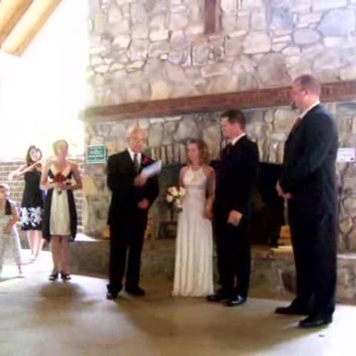 Mel and Birdie Son Wedding