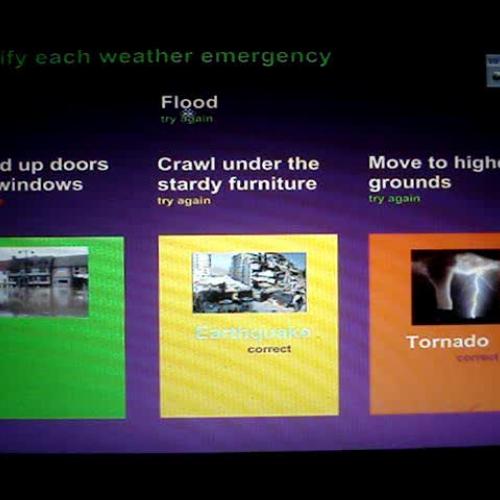 Weather emergencies and proper procedures