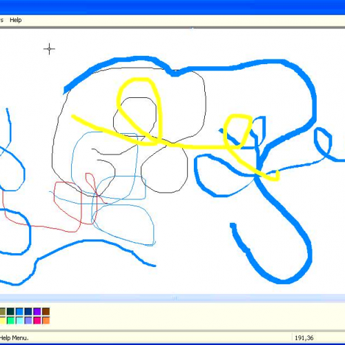 Introduction to Microsoft Paint - The text to