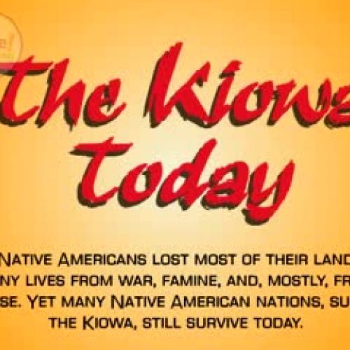 The Kiowa Today