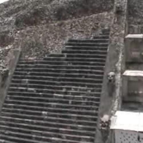 Teotihuacan 2007 - la piramide de Quetzalcoat