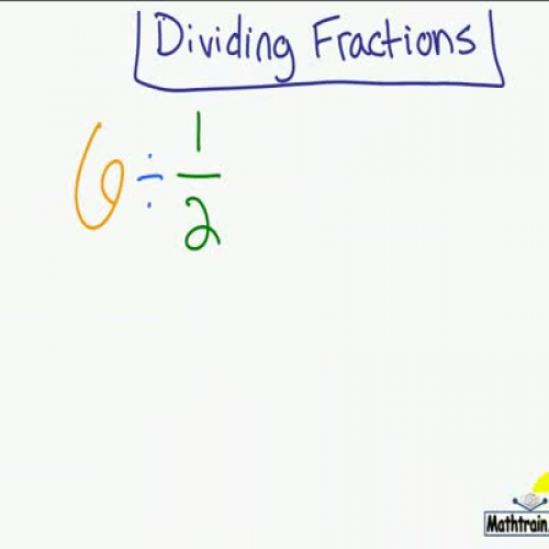 Quick Look at Dividing Fractions