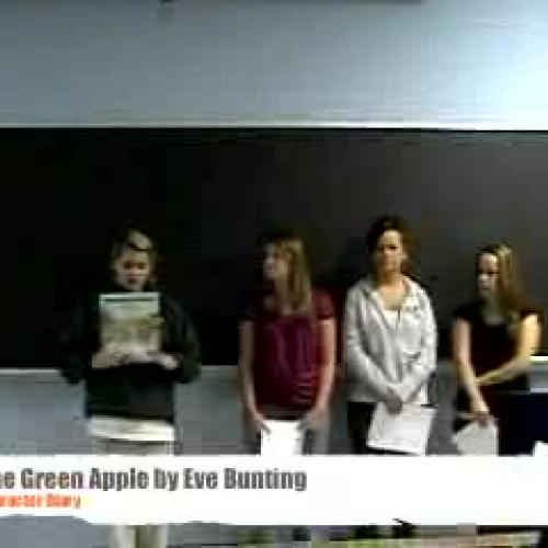 One Green Apple  Eve Bunting Correspondence D