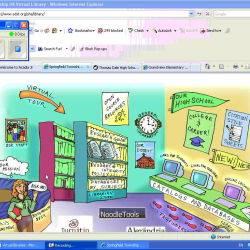 Virtual Library Exploration 1