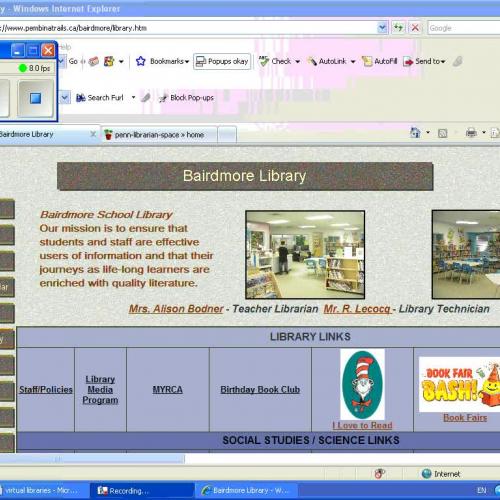Virtual Library Exploration 3
