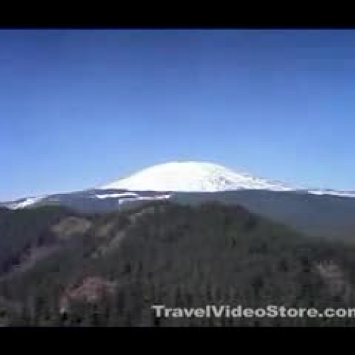 Mount Saint Helen Erupts