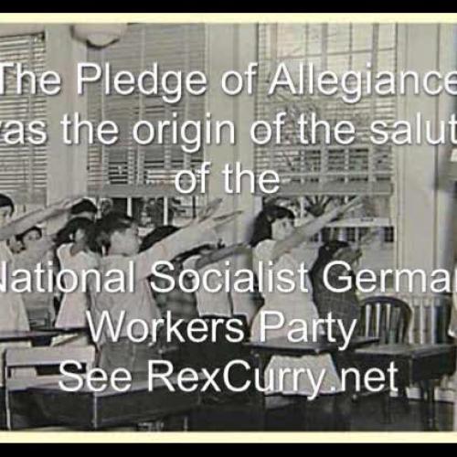 Pledge of Allegiance flags Francis Bellamy, Edward Bellamy, historian Dr. Rex Curry
