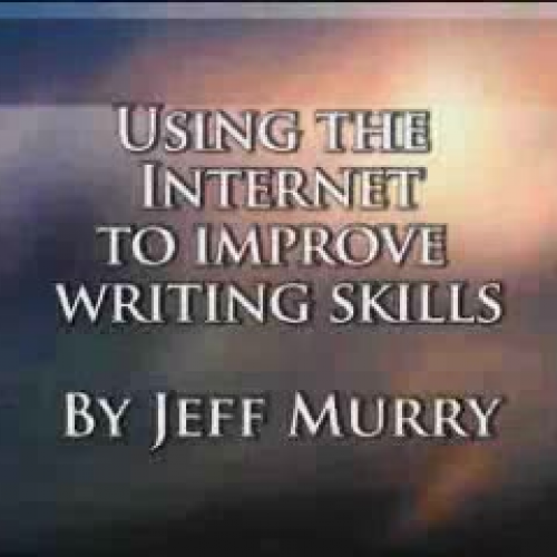 Using the Internet to help students write