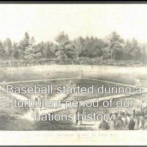 Baseball  A Brief History of Americana