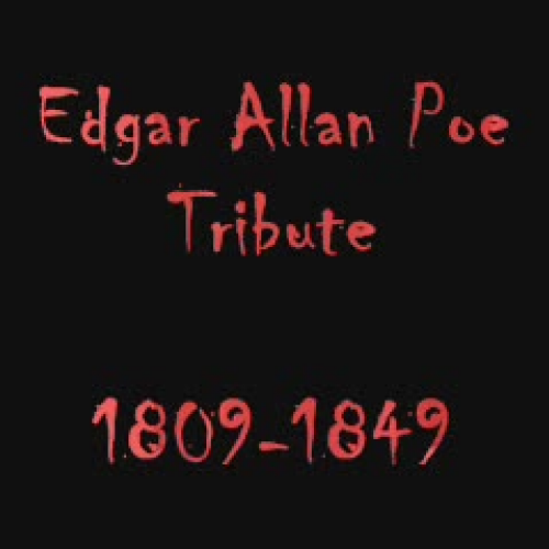 Poe video tribute Trimbles Class Jorden D