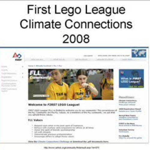 2008 FLL Climate Connections Research Project