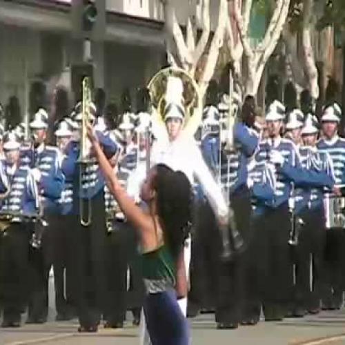 Eastlake HS at the 2008 Arcadia Band Review