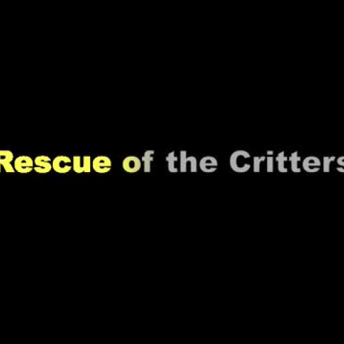 Rescue of the Critters