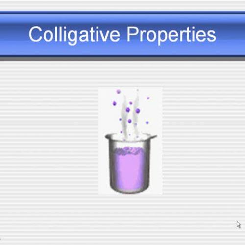 MGM Chemistry 1 Colligative Properties