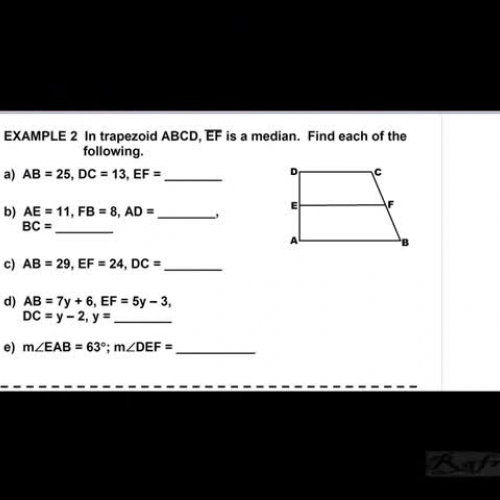 Trapezoid Notes Ex. 2