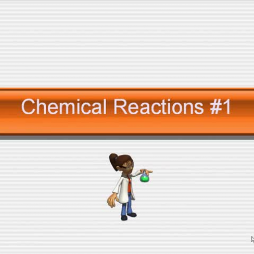 MGM AP Chemistry 3 Reactions 1