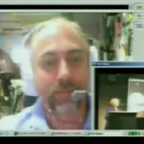Space Teleconference with Richard Garriott Pa