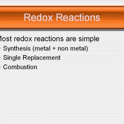 MGM AP Chemistry 3 Redox Reactions and Comple