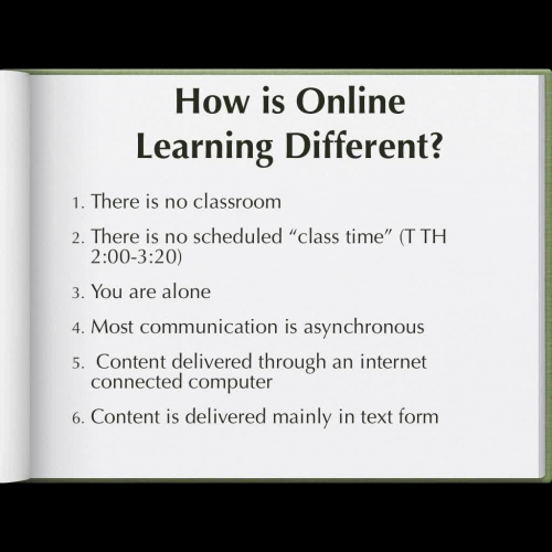 Are You Ready for an Online Class?