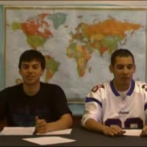 Bulldog News broadcast one
