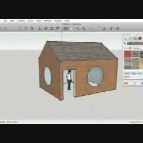 Sketchup - Build a House (part3)