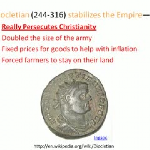 Christian Crackdown and Catacombs