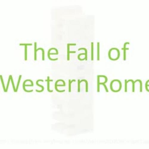 Fall of Western Rome