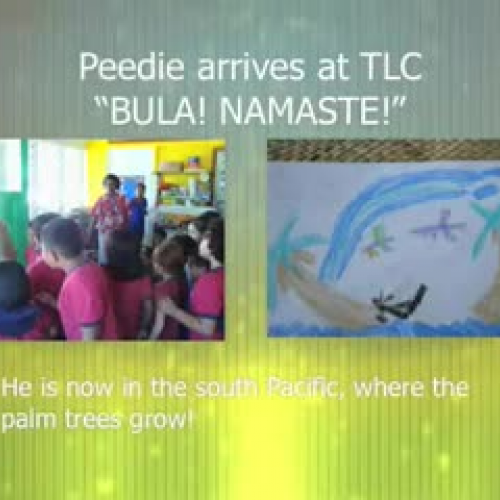 Peddie in Fiji
