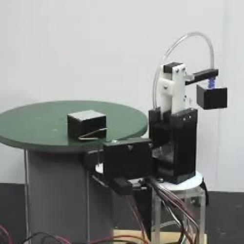 CIM - Autonomous Pick and Place Robotic proje