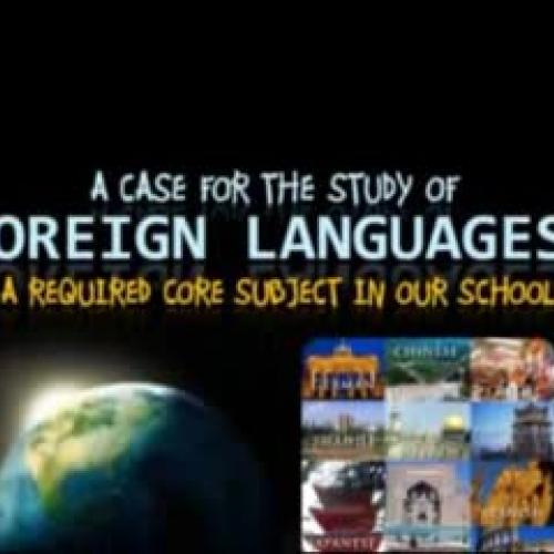 Foreign Language Study Benefits