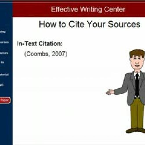 APA Format Documentation Part 3