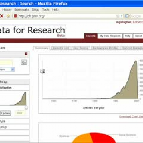 JSTOR's Data for Research Tip #1: What are ng