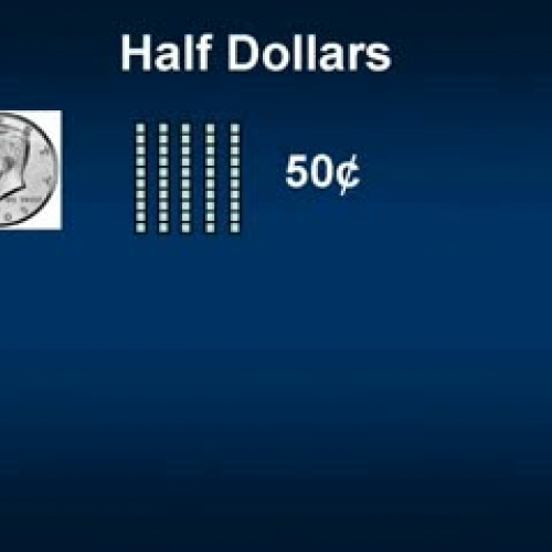 Counting with Half Dollars