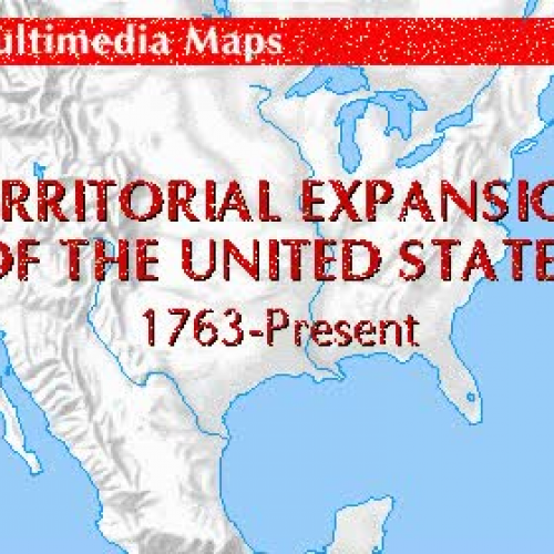Expansion of the United States Map 1763 - Pre