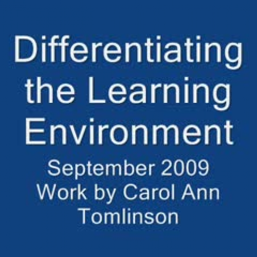 Learning Environment and DI