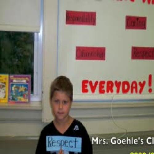 Mrs. Goehle's Class
