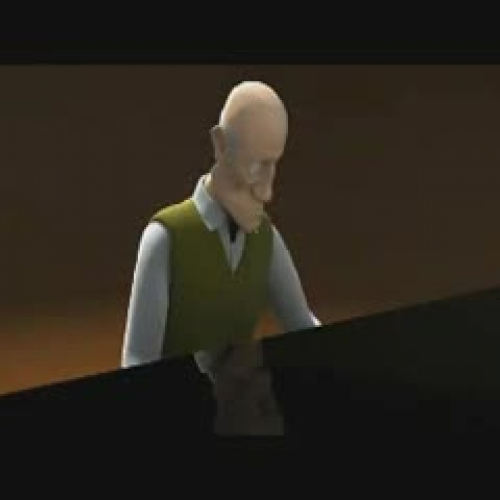 The Piano Animation