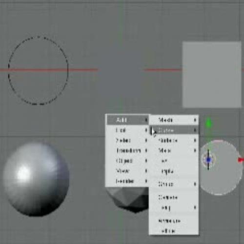 Blender Lesson 2 - Basics (Part 2)