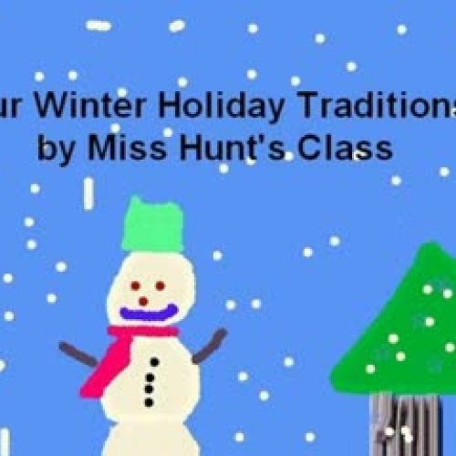 Our Winter Holiday Traditions Hunt