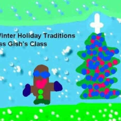 Winter Holiday Tradtions Gish