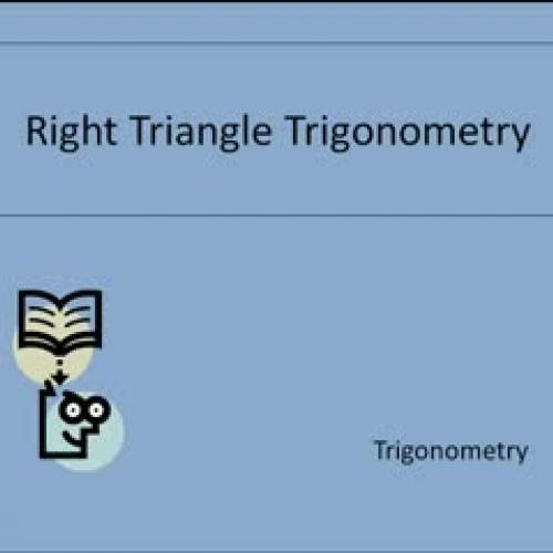 Right Triangle Trig_Nickell