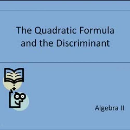 Quadratic Formula_Nickell