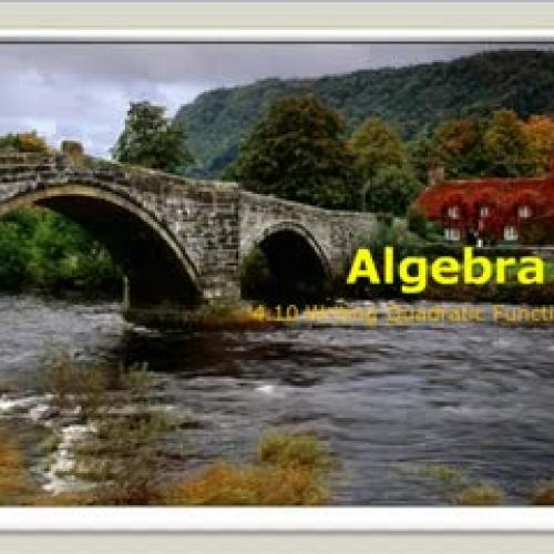 Writing Quadratic Equations Alg 2_Smith