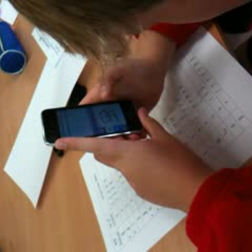 Ipod Touch in Chinese Lesson