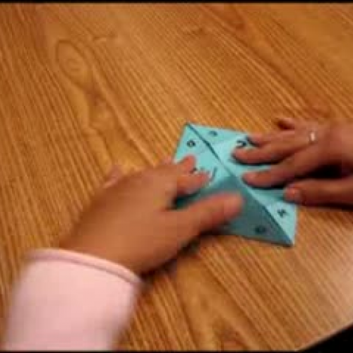 WRITE Institute - How to fold catchers