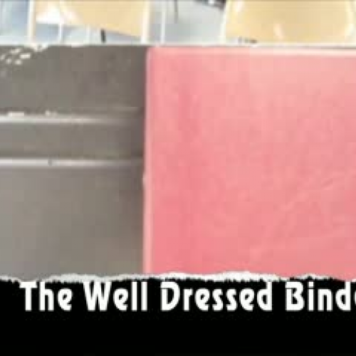 The Well Dressed Binder