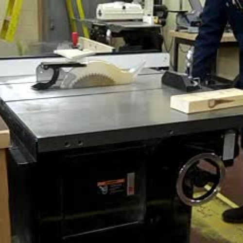 Table Saw Tutorial Part 1