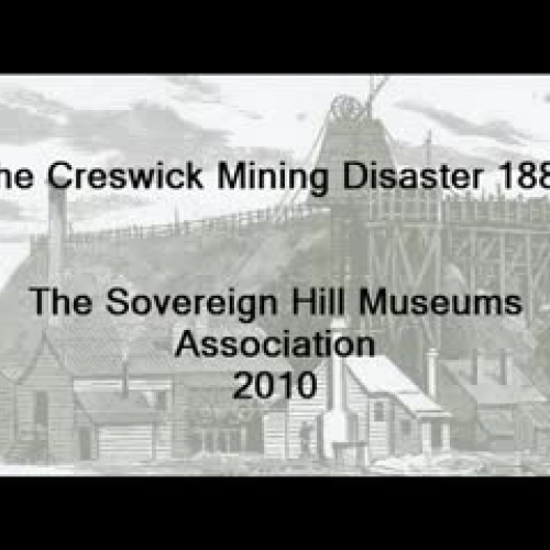 Creswick Mining Disaster Underground