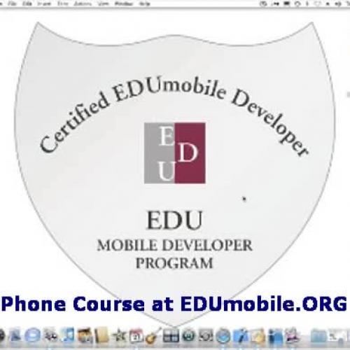 iPhone Programming Course at EDUmobile.ORG -